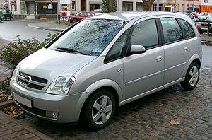 Opel Meriva - Image: Opel Meriva front 20071126