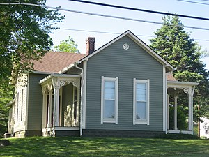 National Register of Historic Places listings in Hendricks County, Indiana - Image: Ora Adams House