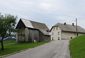 Orehek, Cerkno - The hamlet of Nemci