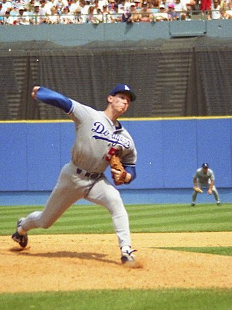 Orel Hershiser - Hershiser with Dodgers in 1993