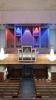 Orgel der Reformierten Kirche Uster ganz