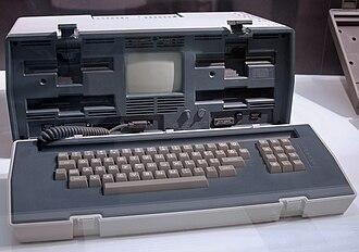 Osborne 1 - Later model Osborne 1 with the redesigned case