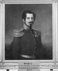 Oskar I, 1799-1859, kung