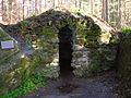 Ossian's Cave front, The Hermitage.JPG