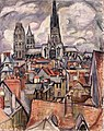 Othon Friesz - Roofs and Cathedral in Rouen - Hermitage.jpg