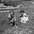 Otroka, Trebče, Črni Vrh 1959.jpg