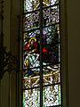 Ottensheim - kath Pfarrkirche hl Ägidius - Fenster rechts des Altars.jpg