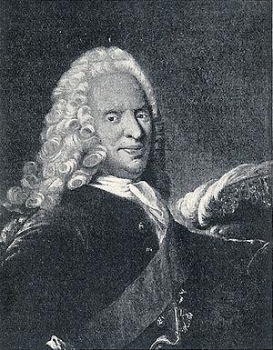 Otto Thott - Otto Thott, engraving by  Johan Martin Preisler