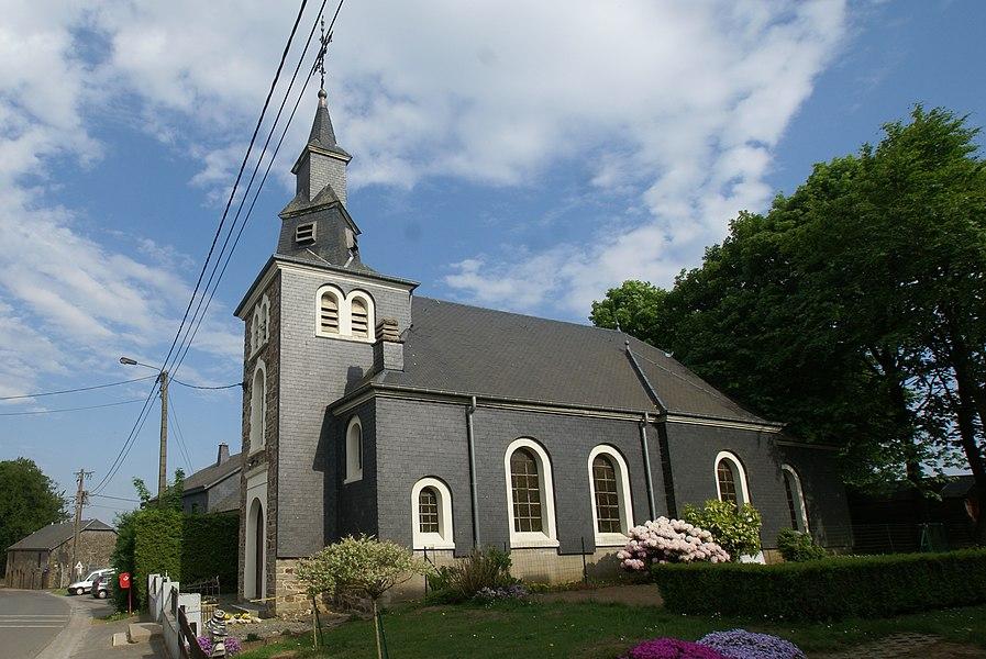 Ourt (Belgium): The Therès de Lisieux-chapel in the Plein Vent road
