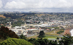 Oamaru - Oamaru from S Hill Walk
