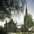 Overzicht van de pastorie en de kerk - Beek en Donk - 20388486 - RCE.jpg