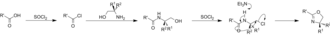 Oxazoline - Image: Oxaz via SO Cl 2 2