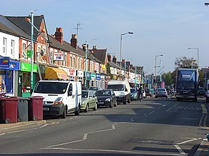 West Reading, Berkshire - Image: Oxford Road, Reading