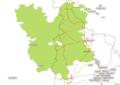 Périmètre du Parc naturel Régional Lorraine et limites du département de Meurthe et Moselle.png
