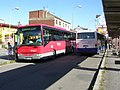 Příbram, autobusy D29 a D31 v autobusovém nádraží.jpg