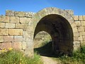 P456 Ruins of the Castel in Castelo Mendo 4 May 2014.JPG