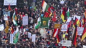 Pegida - Pegida demonstration on 25 January 2015