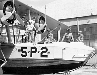 VP-46 - VP-5S PM-2 and crew at NAS Coco Solo c.1934