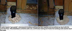 Packing (firestopping) - Image: Pack seal 3