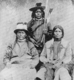 Investigations and prosecutions relating to the Mountain Meadows massacre - Paiute tribesmen (circa 1880)