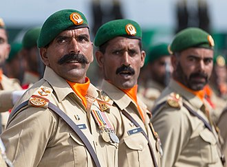 Pakistan Day - Pakistani soldiers during the Pakistan Day Parade in 2016.