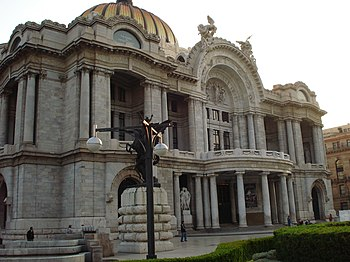 Palacio bellas artes mexico df