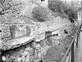 Palais des Comtes de Poitiers (ancien) ; Palais de Justice - Vestiges du mur gallo-romain - Poitiers - Médiathèque de l'architecture et du patrimoine - APMH00021748.jpg