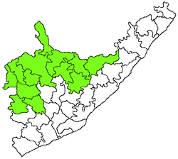 Palakonda revenue division in Srikakulam district.png