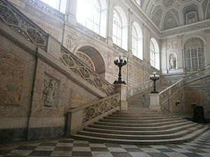 Royal Palace of Naples - Main stairs