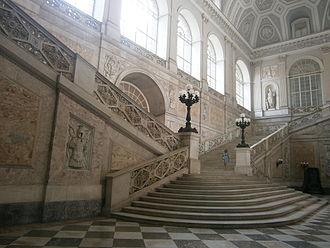 Royal Palace of Naples - Main stairs
