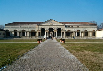 L'Arianna - The Palazzo del Te, Mantua, seat of the Gonzaga dynasty which Monteverdi served as a court musician from 1590 to 1612