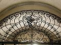 Palazzo bartolommei, androne 05 inferriata.JPG