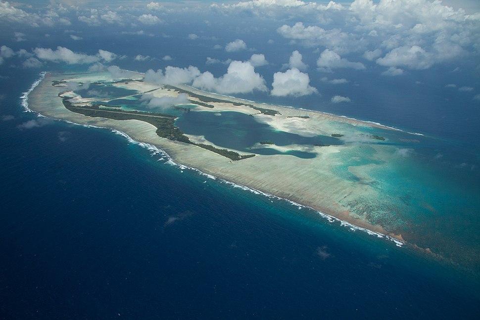 Palmyra Atoll NWR aerial FWS