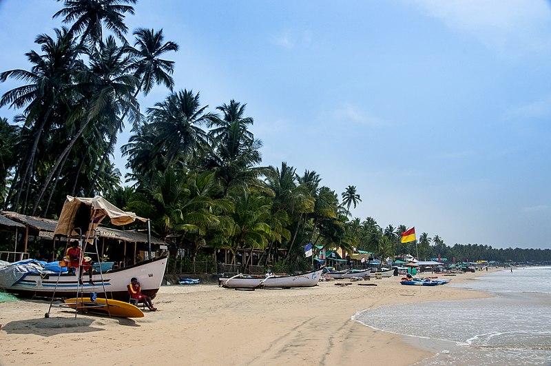 File:Palolem beach,Goa - panoramio.jpg