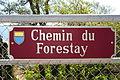 Panneau du Forestay à la hauteur de Rivaz-village..jpg