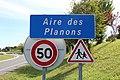 Panneau entrée Aire Planons St Cyr Menthon 1.jpg