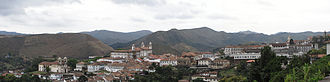 Ouro Preto - Panoramic view.