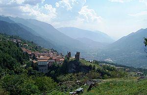 Cimbergo - Castle of Cimbergo.