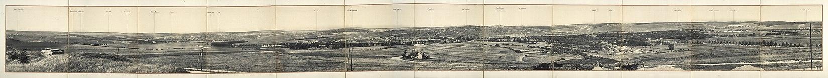 Battle of verdun wikipedia verdun battlefield from fort de la chaume looking northeast 1917 publicscrutiny Choice Image