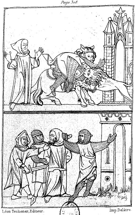 Paris, Paulin - Romans de la Table Ronde, tome 1 - Illu p315.jpg