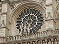 Paris - Cathédrale Notre-Dame - PA00086250 - Rosace ouest (1).JPG