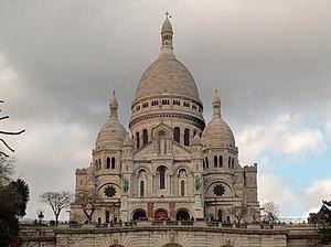 Paris 75018 Basilique du Sacré-Cœur 20160223 exterior (01)