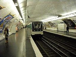 Paris metro - Marcel Sembat - 2
