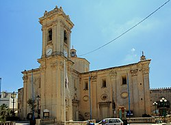 Parish church Attard Malta 2014 2.jpg