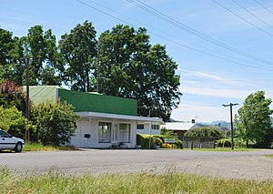 Parnassus, New Zealand - The former supermarket at Parnassus