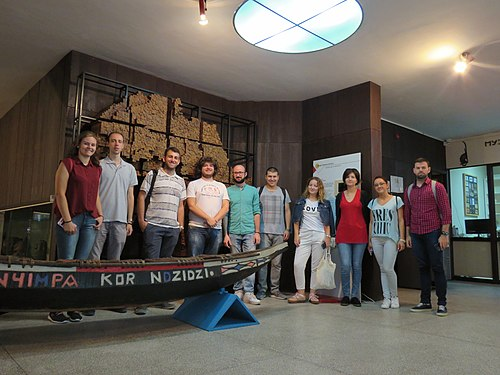 Participants of edita-a-thon in the Museum of African art in Belgrade 2018, 01.jpg