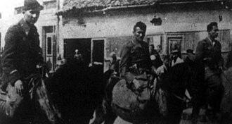 Sandžak - Partisans enter Novi Pazar