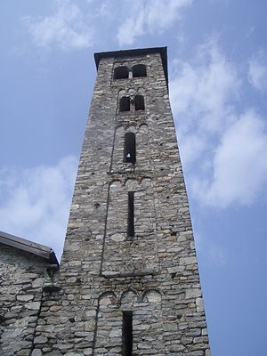 Paruzzaro - Bell tower of San Marcello