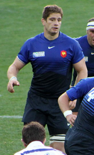 Pascal Papé - Papé during 2011 Rugby World Cup