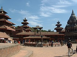 Hindu temples in Patan, capital of one of the three medieval Newar kingdoms
